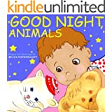 Good Night, Animals: Children's Picture Books (English Edition)