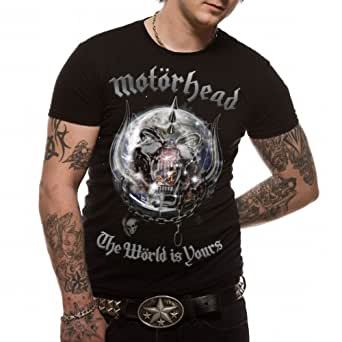 Motorhead - The World Is Yours Men's T-Shirt Black Small