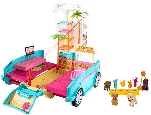 barbie-coche-parque-de-perritos-mattel-dly33
