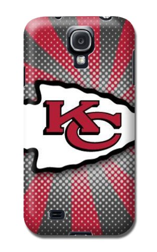 Cover For Samsung Galaxy S4 Kansas City Chiefs Nfl Sparkle Personalised Phone Case at Amazon.com