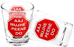 Happily Unmarried Mat Roko Shot Glass, Set of 2