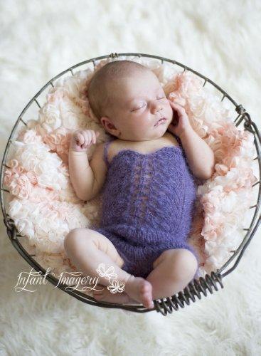 Seashell Sweetie Knitting Pattern - Newborn Size front-216613