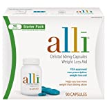 Alli Orlistat, Weight Loss Aid, Starter Pack, Capsules, 60 ct.