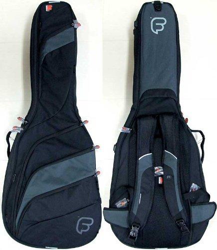 Fusion F2-01GFB Classic Full Size Guitar Bag - Black/Grey