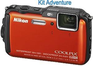 NIKON Coolpix AW120 Orange kit adventure