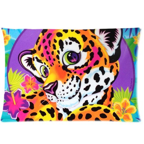 pillow and Outdoor Throw Pillow Lisa Frank Custom Zippered 18 inch (two sides)