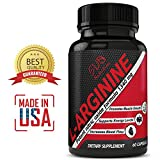 L-Arginine + L-Citrulline 1340mg Potent Nitric Oxide Formula - Supports Cardio Health, Nitric Oxide Production , Muscle Growth, Endurance, Energy Levels and Libido