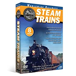Steam Trains 8-DVD Collection