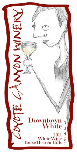 """2011 Coyote Canyon Winery """"Downtown White"""" 750 Ml"""