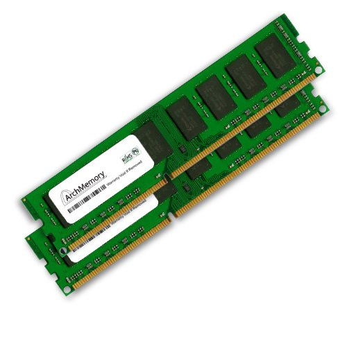 8Gb 1066Mhz Desktop Ddr3 Non-Ecc Cl7 Dimm Kit Of 2 Interchangeable With Kvr1066D3N7K2/8G Anti-Static Gloves Included