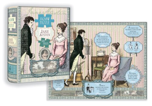 Jane Austen Jigsaw Puzzle: 500 Pieces