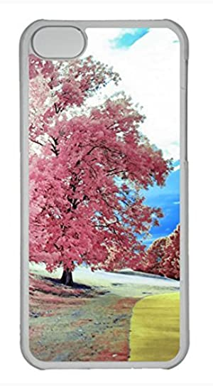 iPhone 5c case, Cute Park Walk iPhone 5c Cover, iPhone 5c Cases, Hard Clear iPhone 5c Covers