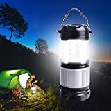Havit HV-CL102 LEDランタン 懐中電灯 キャンプランタン 両替 エクスプローラー 連続点灯10時間 防災用、お釣り キャンプなどのに適用 ブラック