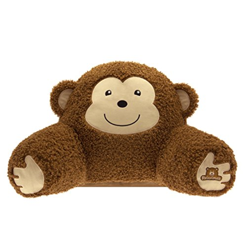 Relaximals Monkey Reading Pillow