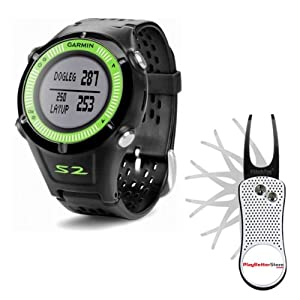 Garmin Approach S2 Golf GPS Watch (NEW VERSION w  30,000+ Courses) | 60-Day Buy &... by Garmin