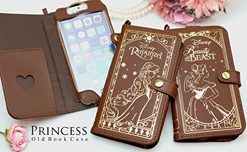 Old Book Computer Case : Disney iphone leather old book case beauty and the