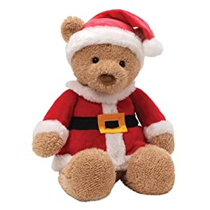 "Gund Fun Christmas Mr. Santa Bear 16.5"" Plush"