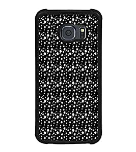 iFasho Modern Art Design animated cloth Pattern of small star Back Case Cover for Samsung Galaxy S6
