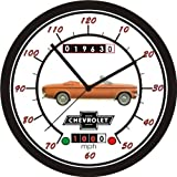 1963 CHEVROLET CORVAIR CONVERTIBLE WALL CLOCK-Free USA Ship