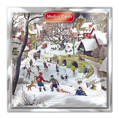 medici-charity-christmas-cards-pack-of-8-cards-christmas-fun-in-aid-of-the-following-charities-marie