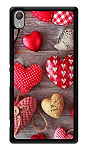 """Humor Gang Heart Chocolates Printed Designer Mobile Back Cover For """"Sony Xperia Z3 - Sony Xperia Z3 Plus"""" (3D, Glossy, Premium Quality Snap On Case)"""