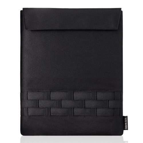 Matrix Case for Apple iPad and iPad 2 (portrait/black) by Adore June