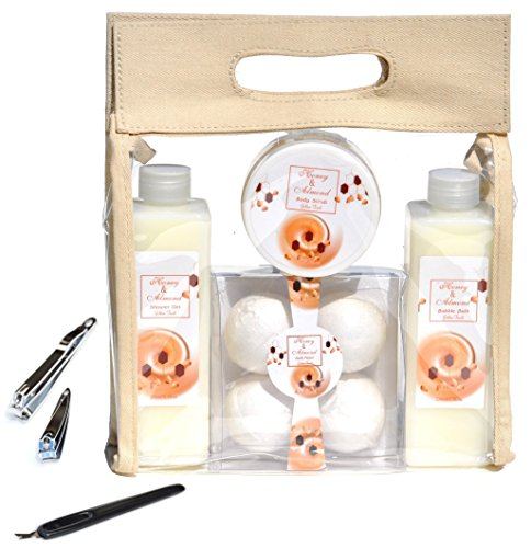 8-piece-honey-almond-bath-body-shower-spa-bath-fizzer-bomb-bath-salt-gift-set-basket-for-women-mom-m