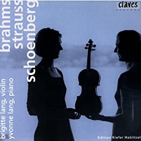 Brigitte & Yvonne Lang: Brahms / Strauss / Schoenberg