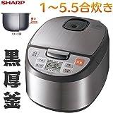 SHARP ジャー炊飯器 5.5合(1L)タイプ KS-Z101-S
