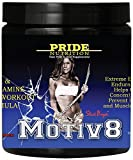 Motiv8 - Pre Workout Supplement For Women And Men - Contains BCAA And L Glutamine For Recovery & Endurance - Staci Boyer 250g Fruit Punch Preworkout - Best Amino Acid L Taurine Powder Drink Formula With 100mg Caffeine For Energy - Use For Pre-Workout Or Intra Workout.