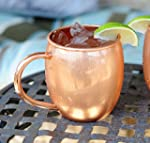 Copper Barrel Mug for Moscow Mules -...