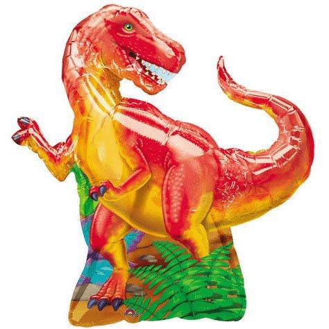 "Anagram International 766401 Dinosaur Party Foil Balloon Pack, 31"""
