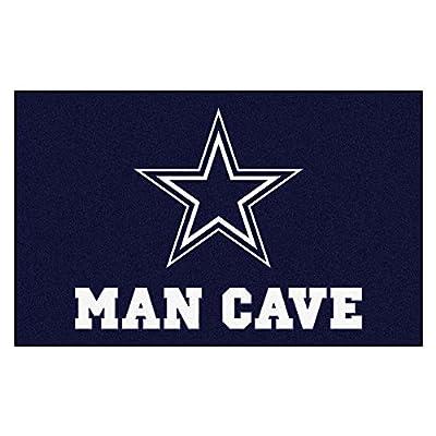 FANMATS 14294 NFL Dallas Cowboys Nylon Universal Man Cave UltiMat Rug
