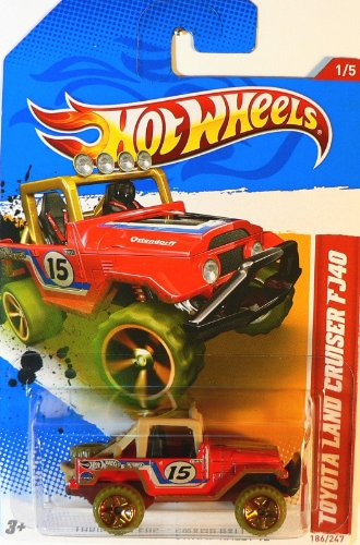 Hot Wheels Toyota land Cruiser FJ40 - 1