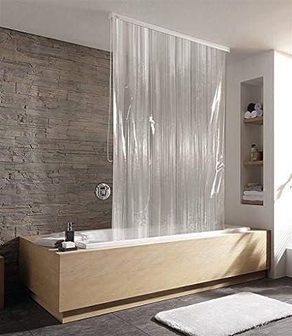 kleine wolke duschrollo transparent wei da765. Black Bedroom Furniture Sets. Home Design Ideas