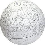 "American Educational Vinyl Clever Catch Writable Globe Ball, 24"" Diameter"