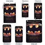 Classic Movie Poster Cover case for Apple iPhone 4 - 4S - A1272 - Batman - Black