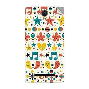Garmor Designer Mobile Skin Sticker For OPPO R2001 - Mobile Sticker