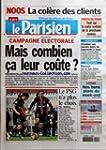 PARISIEN (LE) [No 19417] du 10/02/200...