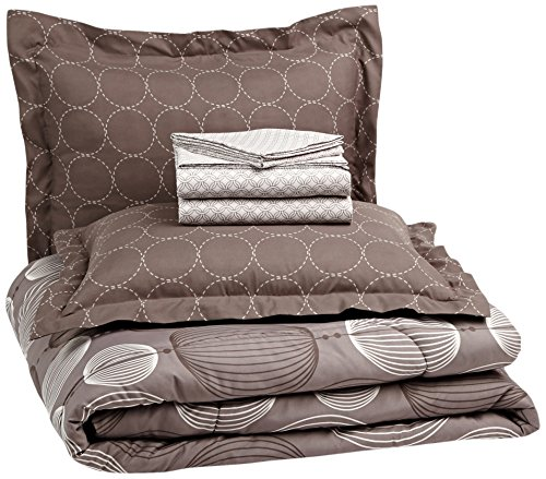 Buy Bargain Pinzon 7-Piece Bed In A Bag - Full/Queen, Industrial Vintage Grey
