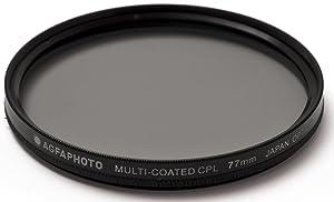 Multithreaded Glass Filter 55mm For Nikon D7100 Multicoated Circular Polarizer C-PL