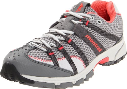 Montrail Women's Mountain Masochist II Trail Running Shoe,Stainless/Corange,8 M US