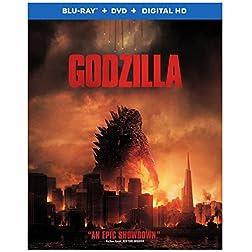 Godzilla [Blu-ray + DVD + Digital HD UltraViolet Combo Pack]