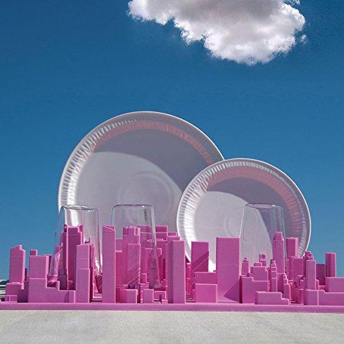 Seletti - Inception (Manhattan) / Abtropfgestell oder Schreibtisch-Oganizer (Fb. Pink)