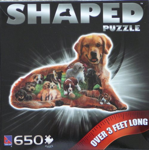 Dog Shaped 650 Piece puzzle