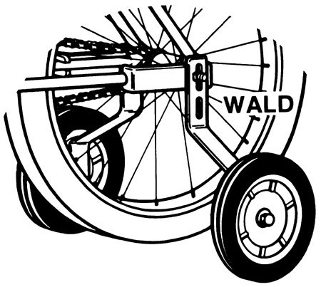 Wald Training Wheel #252