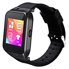 buy Eleoption® Bluetooth Smart Watch Bracelet Sports Smartwatch Gv09 Touch Screen Pedometer Health Fitness Phone Mate Sync Calls Text Music Control For Samsung Galaxy Htc Motorola Lg Android (Gv09 Black)