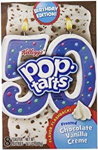 Pop-Tarts Creme Pop Tarts, Chocolate Vanilla, 14.1 Ounce (Pack of 12)