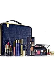 ESTEE LAUDER BLOCKBUSTER GOLD MAKEUP SET TRAIN CASE 18PC-NIB