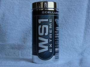 Cellucor WS1 Extreme| Stimulant Free Fat Burner Supplement | Metabolism Booster with CoQ-10 | 120 capsuels